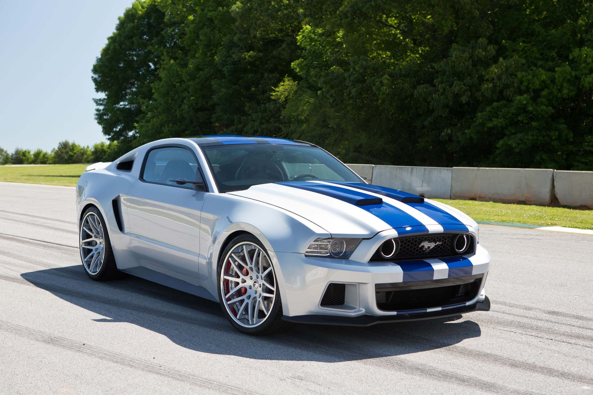 2014 Ford Mustang Shelby Gt500 White