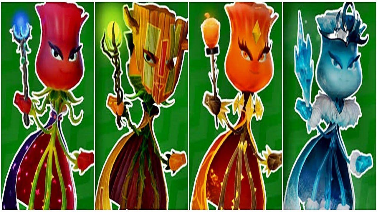 Plants Vs Zombies Garden Warfare 2 4 Rose Pvzgw2 Play