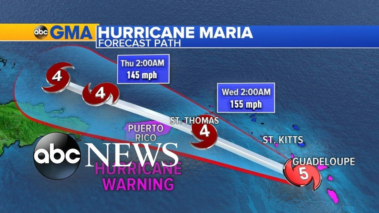 There Were 3 Hurricanes That Hit The United States Texas And Florida Also In Puerto Rico There Is 1 Earthquake In National Hurricane Center Hurricane Maria