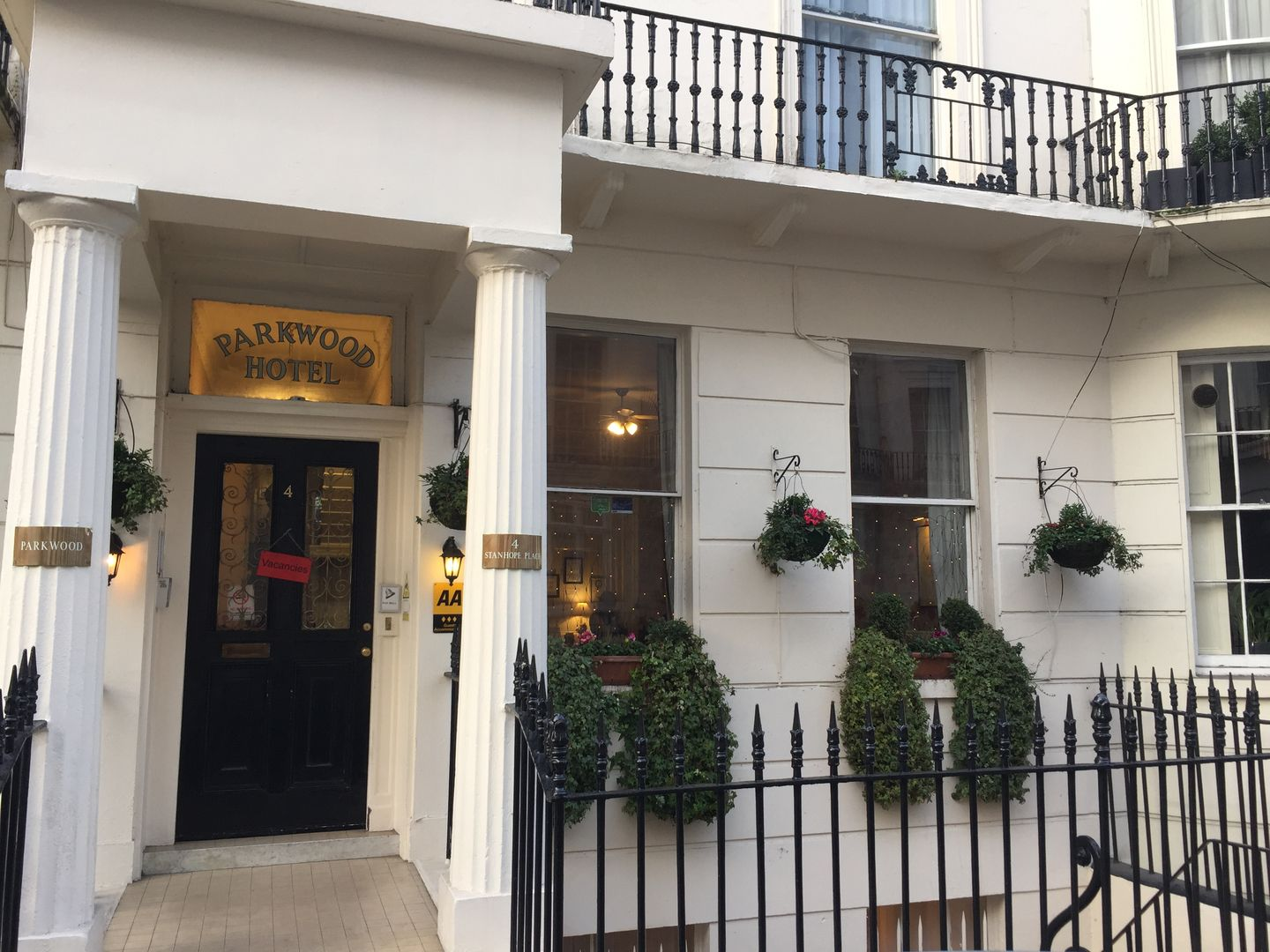 Parkwood Hotel at Marble Arch Home London hotels