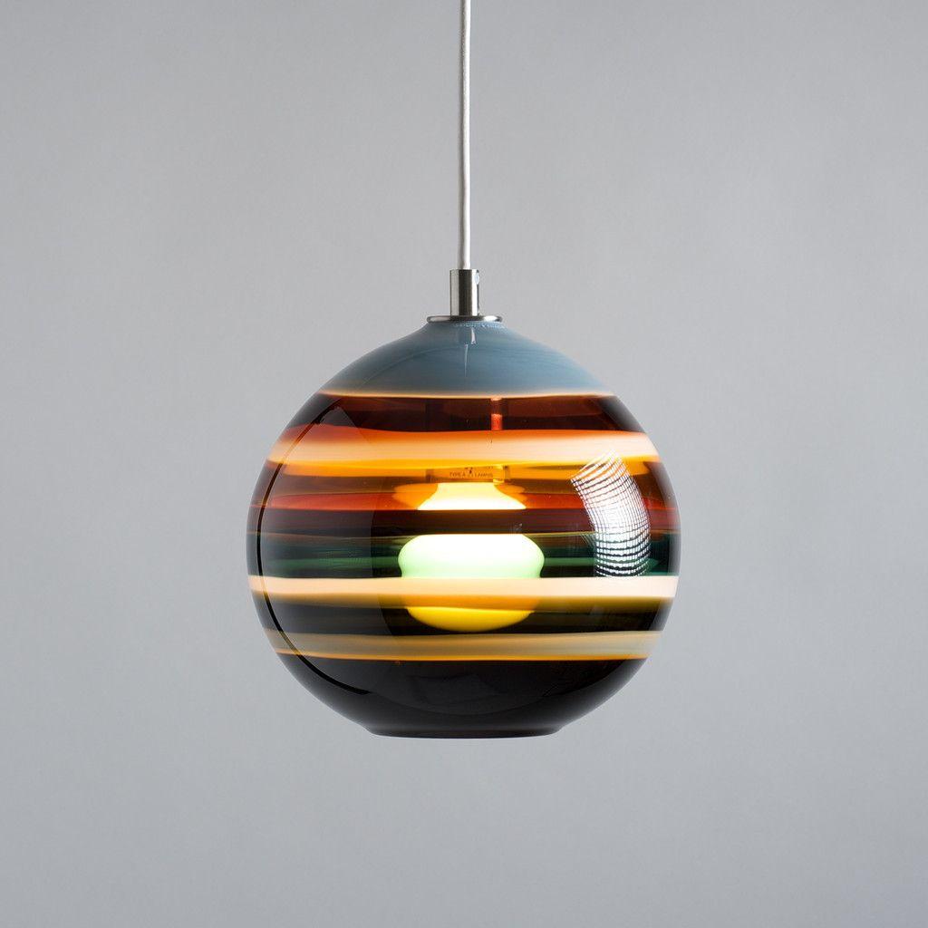 Banded Orb Pendant | Lights, Loft furniture and Interior lighting