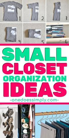 10 Brilliant Organization Hacks for Small Closet images
