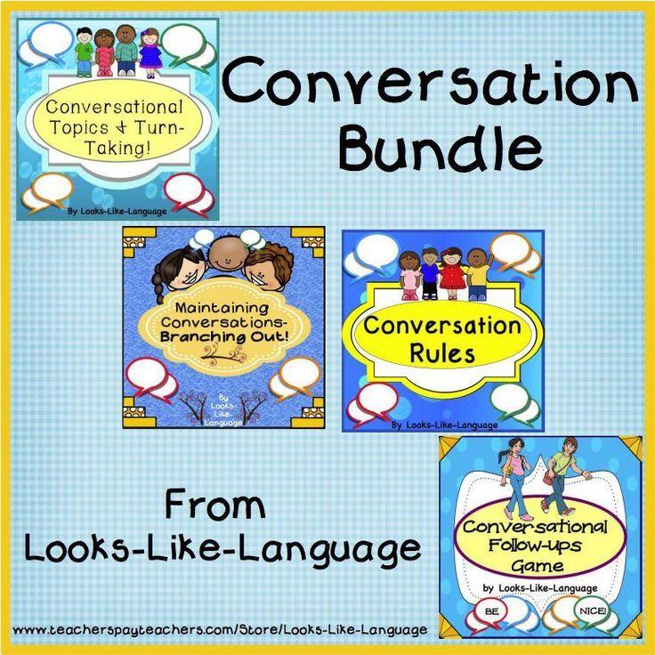 Conversation Activities & Games for Building Skills Bundle 2 ...