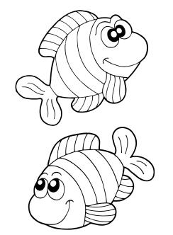 40 Malvorlage Fisch A4 In 2020 Ausmalbilder Fische Malvorlage Fisch Fische Zeichnen