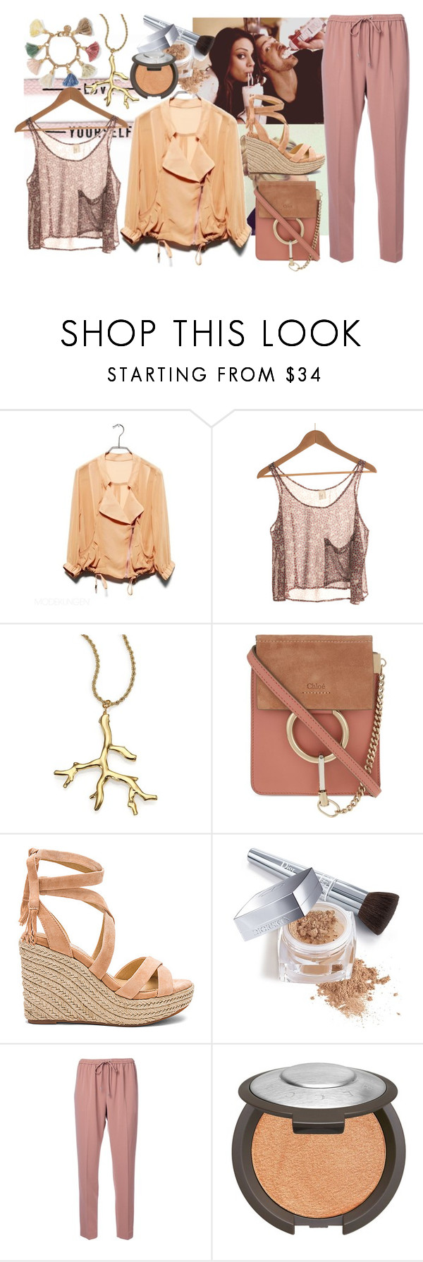 """""""new"""" by dodo85 on Polyvore featuring Kenneth Jay Lane, Chloé, Splendid, Christian Dior, Alexander Wang, Becca and Ben-Amun"""
