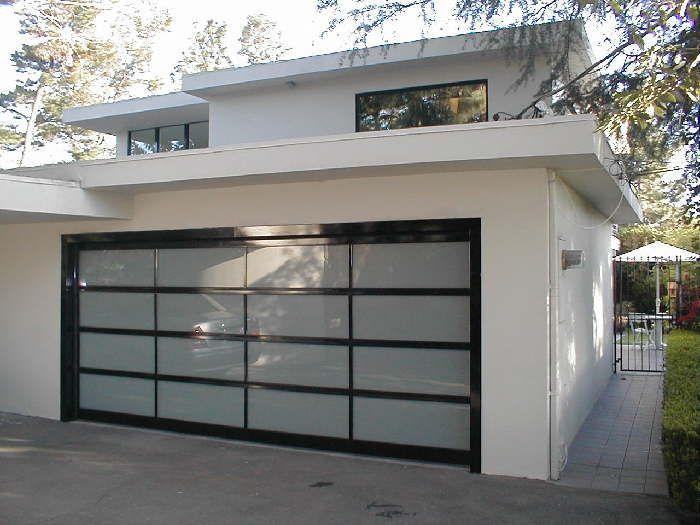 Model Bp 450 W Matching Cladding Size 15 10 X 6 11 Frame Powder Coated Black Glass 1 4 Lam Garage Doors Contemporary Garage Doors Glass Garage Door