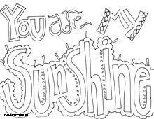 all quotes coloring pages this is great for teachers counselors - Sunshine Coloring Pages Printable