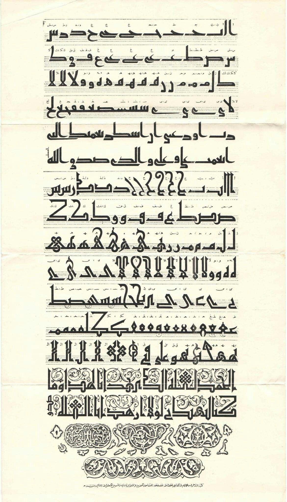 Пин от пользователя abdullah bulum на доске أمشاق الخطوط
