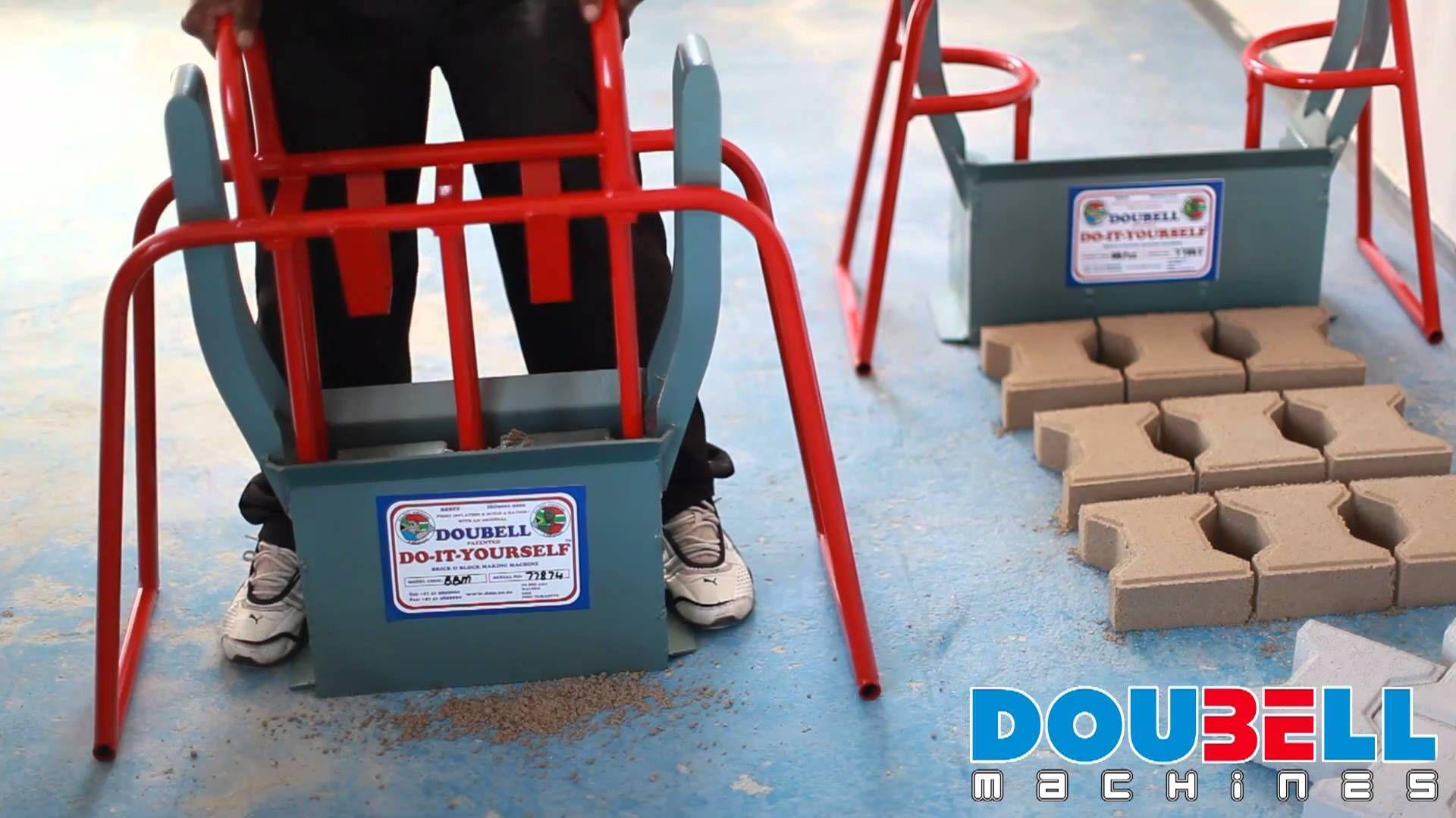 Doubell Machines Diy M6 Block Making Machine Affordable
