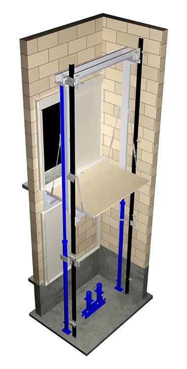 elevator jack schematic
