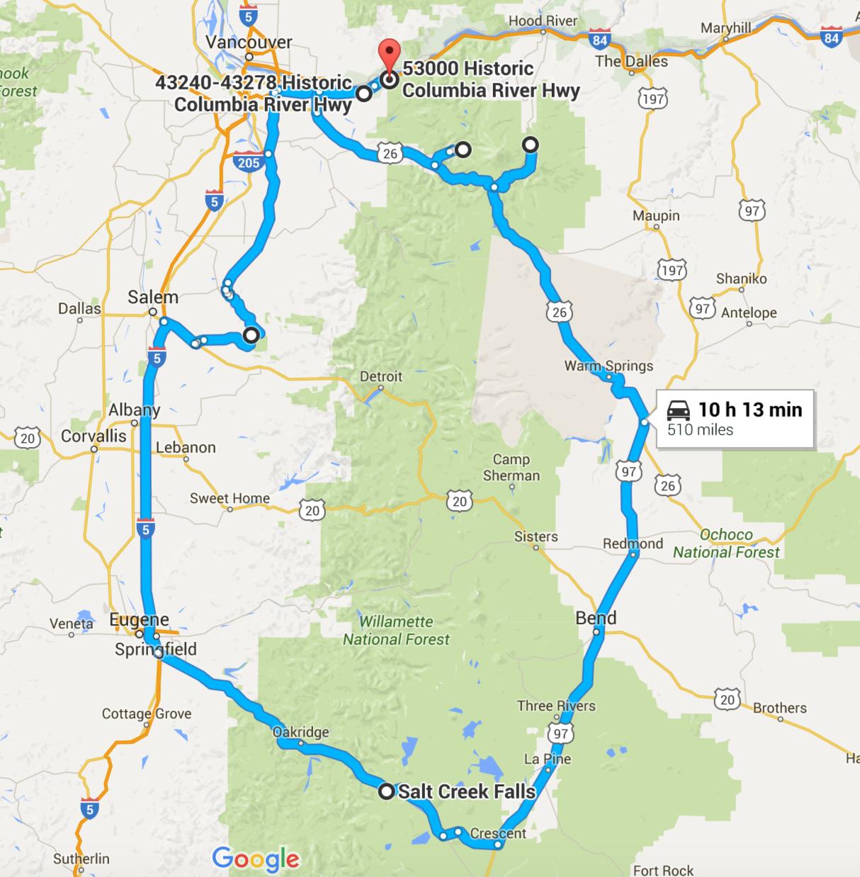 Unforgettable Road Trips To Take In Washington Before You Die - Map washington state peninsula
