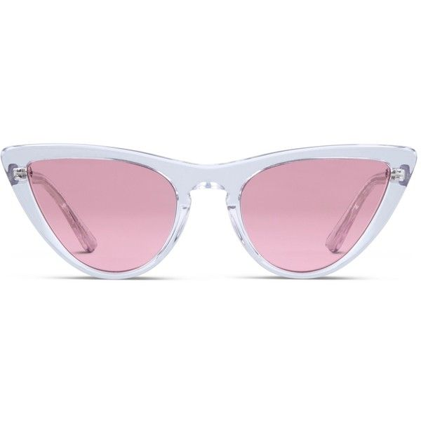 9425ed9983 Vogue Gigi Hadid VO5211S Clear (Non-Rx-able) (€115) ❤ liked on Polyvore  featuring accessories, eyewear, eyeglasses, glasses, sunglasses, clear, ...