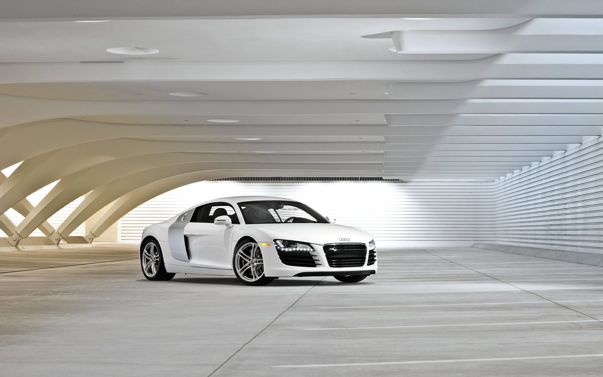 Audi R8 Wallpapers Backgrounds Pictures Photos Laptop Wallpapers Audi Audi R8 Wallpapers White Car