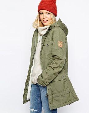 Clothing · Enlarge Fjallraven Hooded Parka Coat With ...