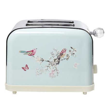 Beautiful Birds Duck Egg Toaster Toaster Retro Fridge Dunelm