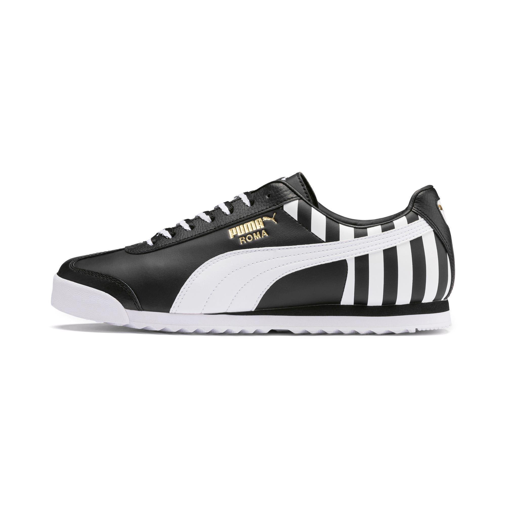 basket puma noir et blanc