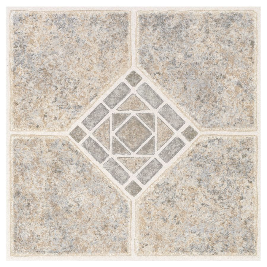 Shop Style Selections 12 In X 12 In Basil Limestone Finish Vinyl Tile At ·  Bathroom FlooringKitchen ...
