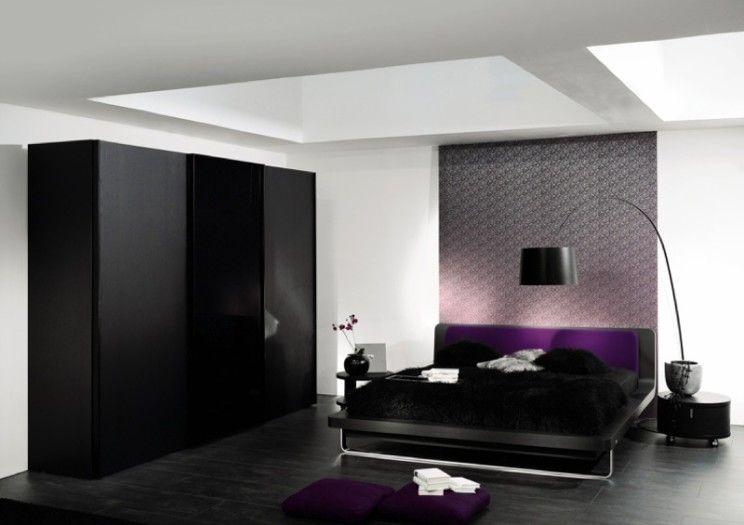 Bedrooms Black Cupboards