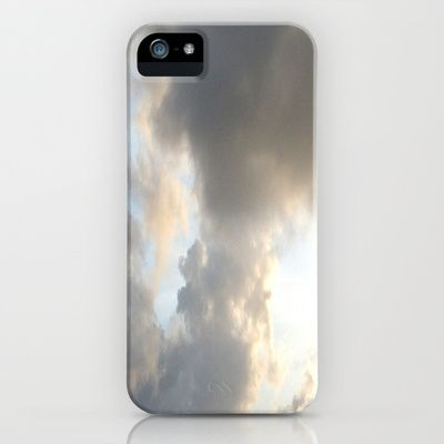 In The Clouds iPhone & iPod Case by Rosie Brown - $35.00  #iphone #ipod #case #sky #clouds #nature #society6