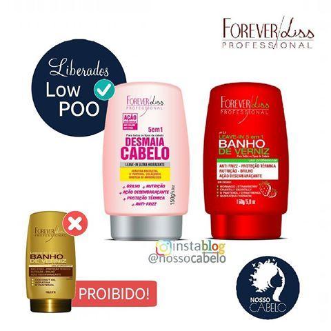 Leave In Da Forever Liss Liberados Para Low Poo Sem