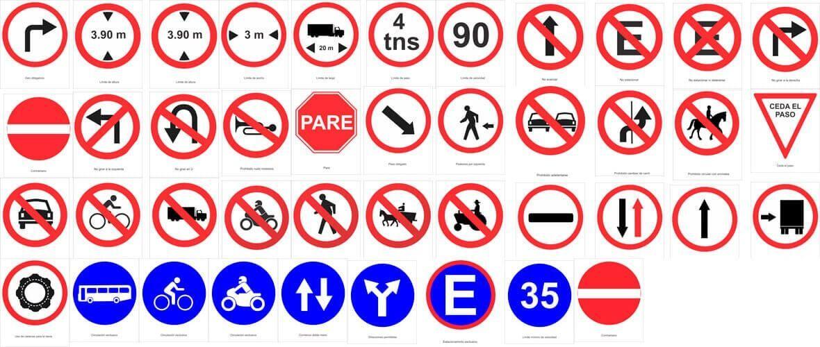 Resultado De Imagen Para Definición De Señales De Transito Señales De Transito Señales De Trancito Señales De Trafico