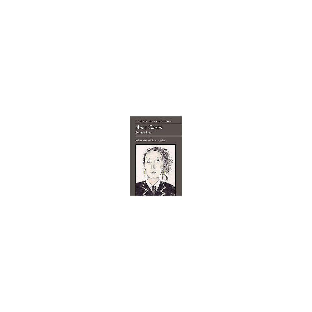 Anne Carson ( Under Discussion) (Paperback)