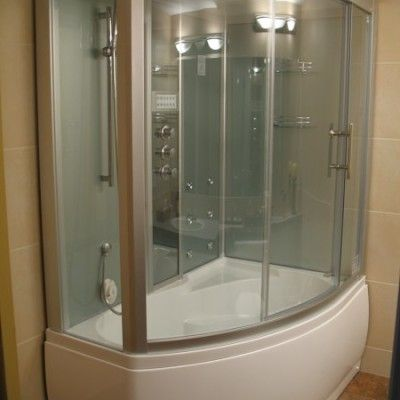 Pin On Steam Showers With Rounded Glass