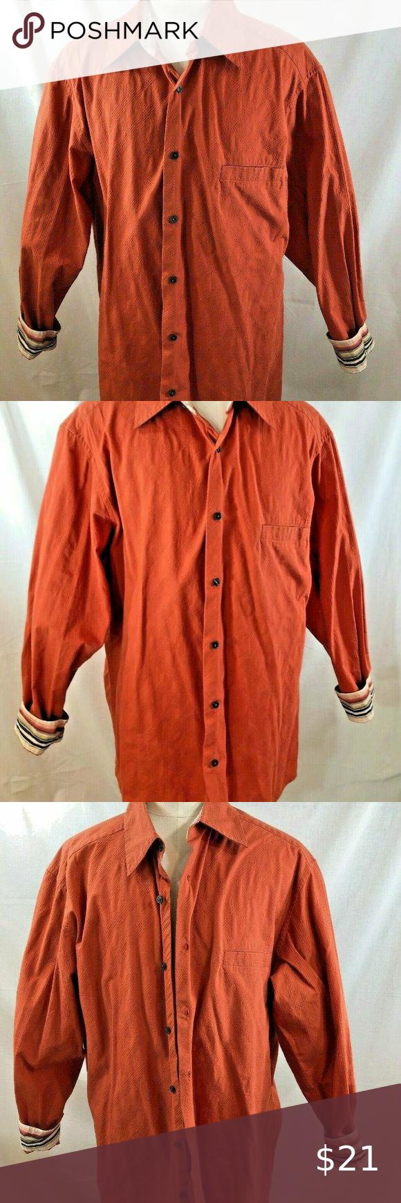 Axcess Men S Size Xl A Claiborne Company Shirt Company Shirts Casual Dress Shirt Men Long Sleeve Casual Dress [ 1740 x 580 Pixel ]