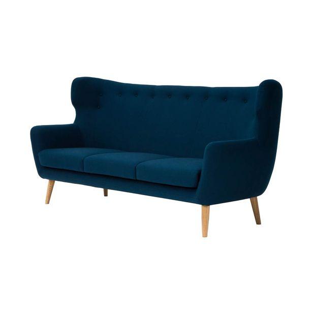 Merveilleux Carmena Velour Sofa