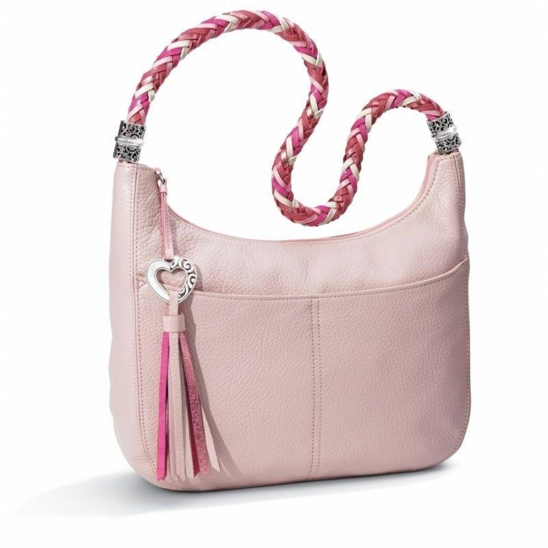 4a522afceaa1 Barbados Ziptop Hobo | Pink Handbags | Brighton purses, Bags, Purses ...