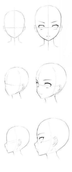 10 Amazing Drawing Hairstyles For Characters Ideas Desenho De Rosto Rosto Tutoriais De Desenho Anime