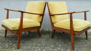50er Jahre Knoll Antimott Sessel Easy Armchairs Mid Century Danish ...