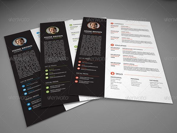 30 resume template that will get you job you want trendy cv