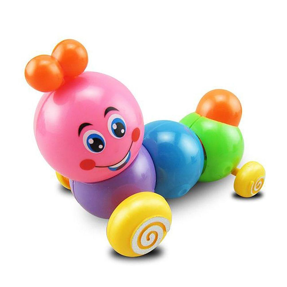 Other Toys & Activities Toys & Activities Cute Colorful Caterpillar Wind-up Toys Kids Baby Child Developmental Educational