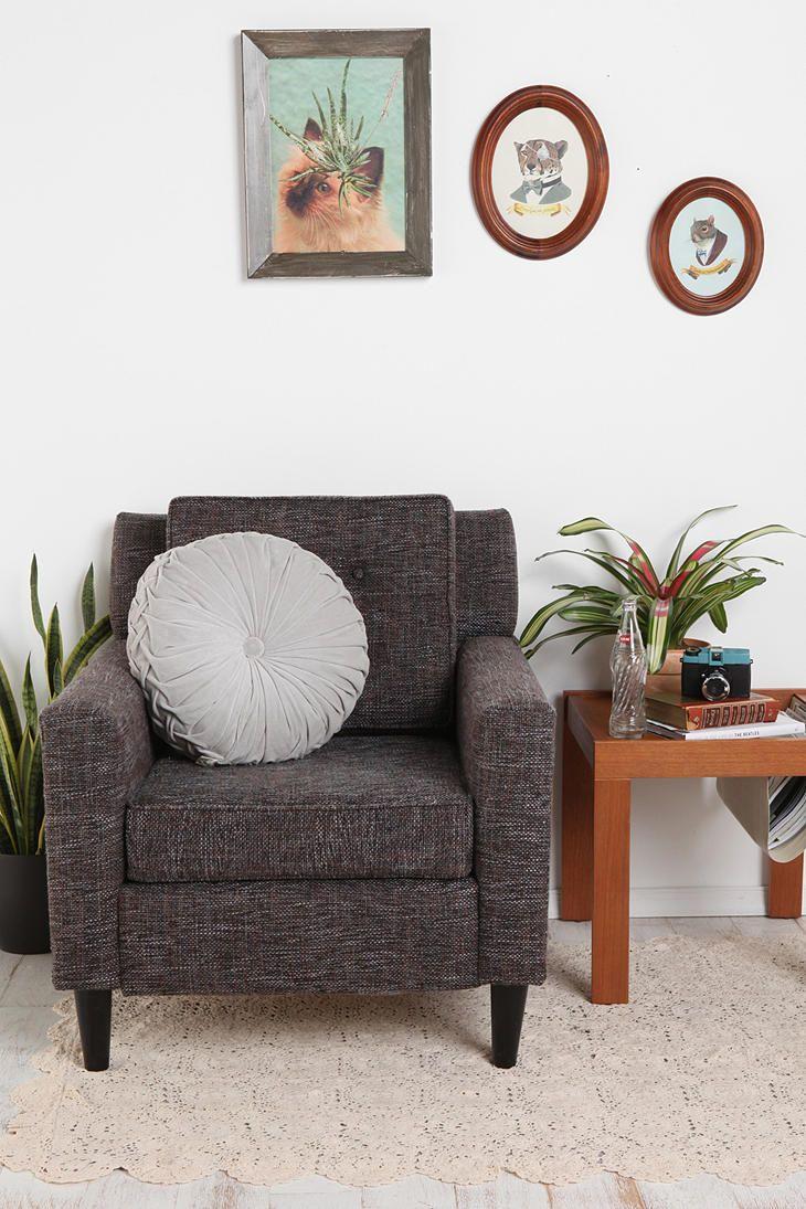 Round Pintuck Pillow Pillows Art Deco Living Room Cute Pillows