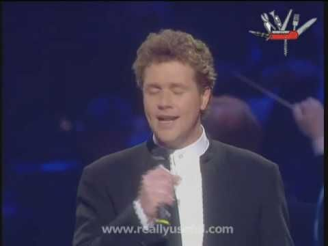 Michael Ball Performing Love Changes Everything From Aspects Of