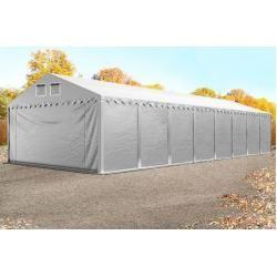 Photo of Lagerzelt 5×16 m – 2,6 m Seitenhöhe, Pvc 550 g/m², mit Bodenrahmen Unterstand, Lager Toolport