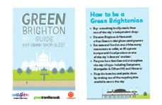 The front of the Green Brighton Guide.