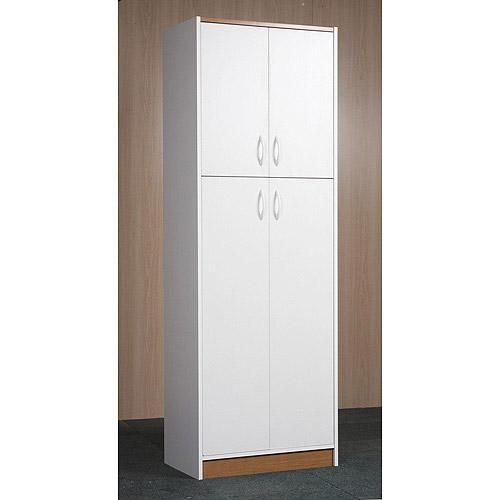 Orion 4 Door Kitchen Pantry White Kitchen Pantries And Products