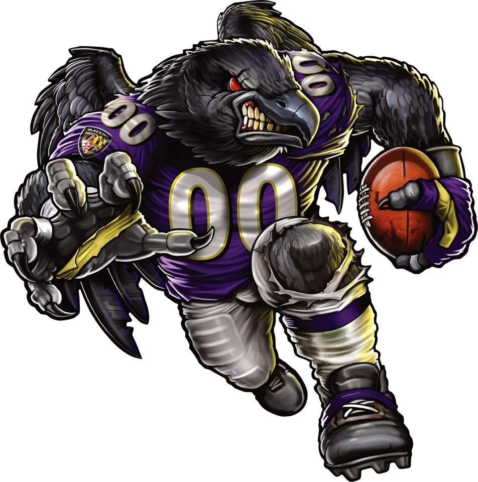 Awesome Baltimore ravens logo, Ravens football