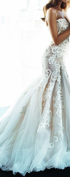This Dress Is Amazing Pretty Gorgeous Wedding Gown Strapless Breathtaking I Believe That Pattern Called French Lace