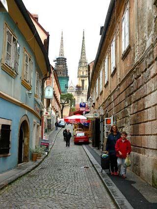 Croatia Maps Facts Zagreb Croatia Cobblestone
