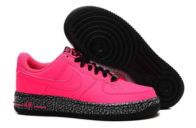 premium selection a7505 5c580 ... authentic 1830 nike air force one low herr hyper svart rosa rosa  se412920emjgyg 96608 00183