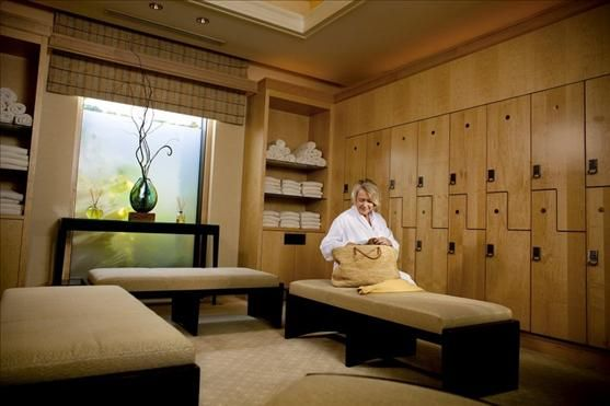 The Umstead Hotel and Spa - Spa Locker Room in 2019 | Room ...