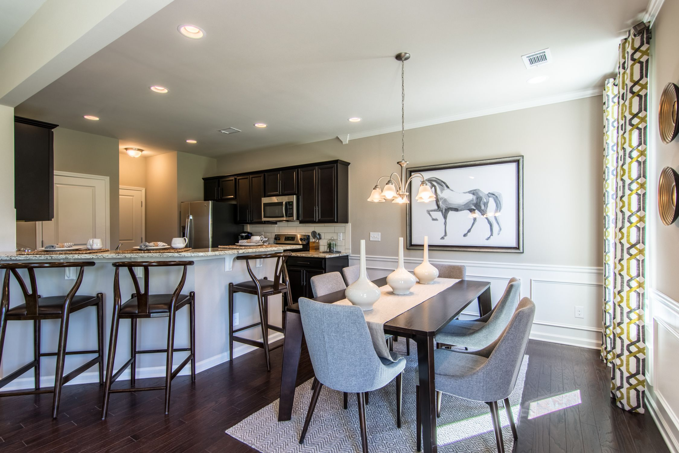 Come Home To Gorgeous Interiors That Show Off Your Sophisticated Style Lawrenceville Atl Homesforsale New Homes Bedroom Floor Plans House Design
