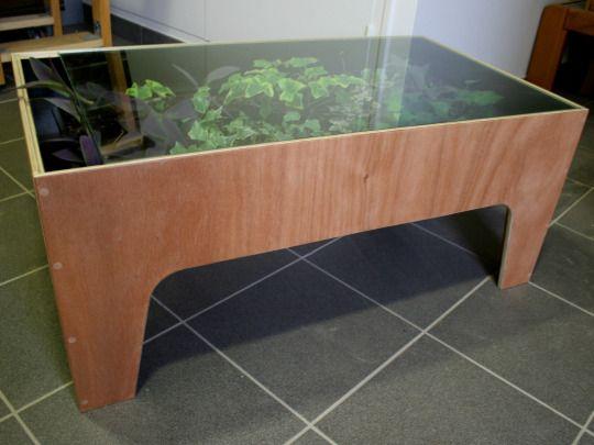 Table Basse Terrarium Creation Cast Table Maison Et Terrarium