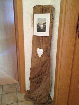 Pin von ellen kletz auf stelen for Gartendeko alten sachen