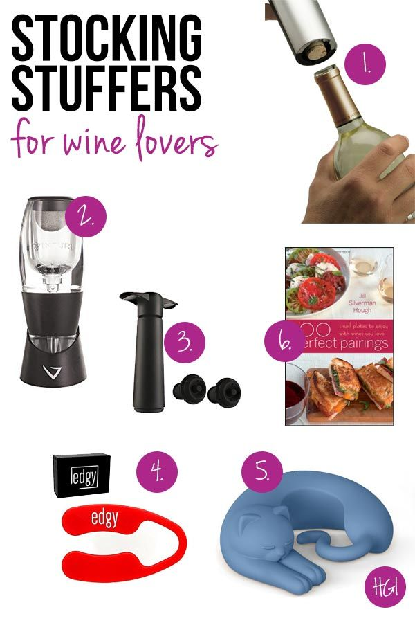 Stocking Stuffers for Wine Lovers: They\'ll be the Toast of Christmas ...