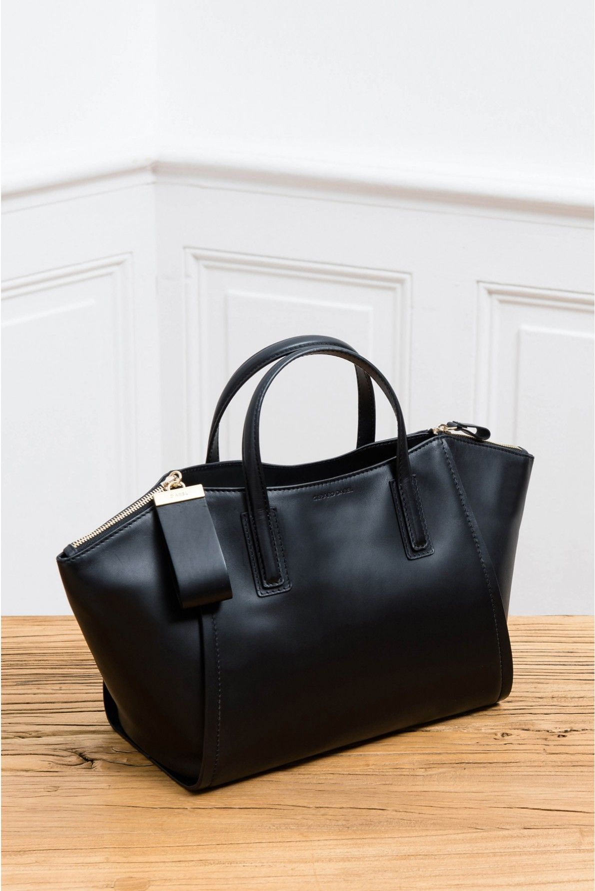 1d2b80ddcb Sac noir, le visconti | gerard darel | Furnace while | Pinterest ...
