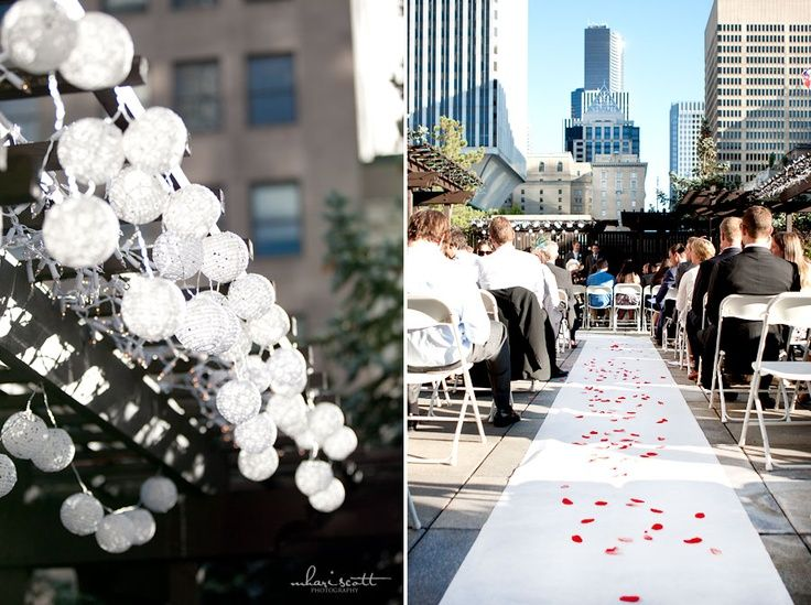 A Rooftop Wedding at the Terrace Garden | Seattle Wedding Photography